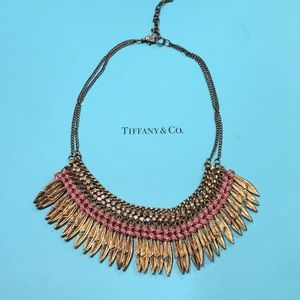 Boho Woven Feather Necklace